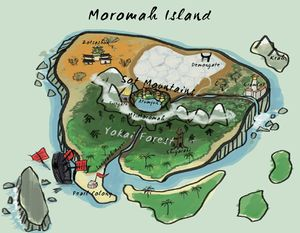 The Island of Moromah and Known Locations