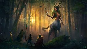 Fae of the Forest (Land)